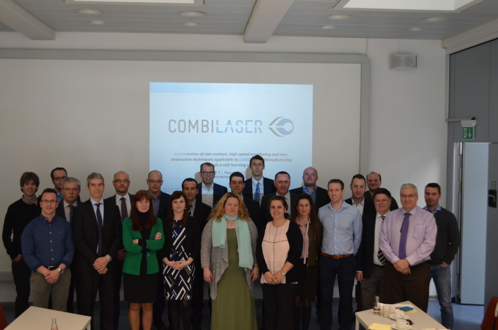 The COMBILASER consortium during the meeting in Hannover