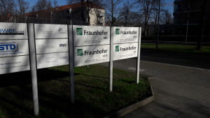 The HeadQuarters of Fraunhofer in Dresden, Germany.